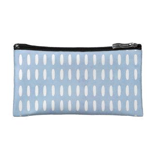 Monogram drop pattern small cosmetic bag