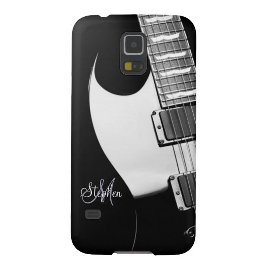 Monogram Electric Guitar Samsung Galaxy S5 Case