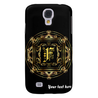 Monogram F Customize and use Form Factor Galaxy S4 Case