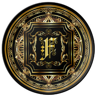 Monogram F ImportantView About Design Plate