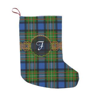 Monogram Fergusson Tartan Small Christmas Stocking