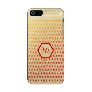 Monogram fiery red spiders pattern incipio feather® shine iPhone 5 case