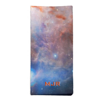 Monogram Fires of the Flame Nebula - in Orion Napkin