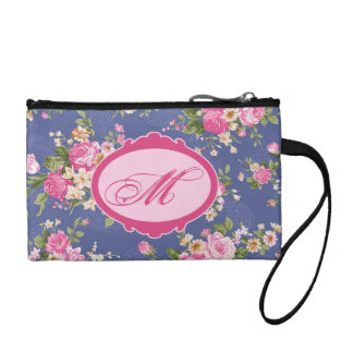 Monogram Floral pattern Coin Purse