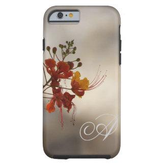 Monogram Floral Photo iPhone 6 case Tough iPhone 6 Case