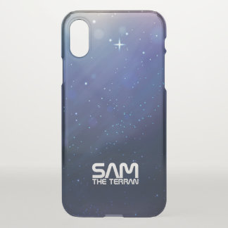 Monogram. Funny. You The Terran in Space. iPhone X Case