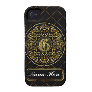 Monogram G Vibe Important View Notes Please Vibe iPhone 4 Covers