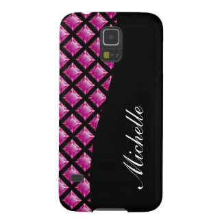 Monogram Galaxy S5 Case Bling