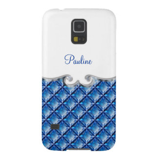 Monogram Galaxy S5 Case Digital Jewels