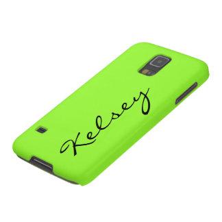 Monogram Galaxy S5 Cases