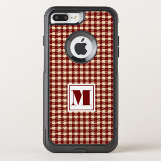 Monogram Gingham OtterBox Commuter iPhone 8 Plus/7 Plus Case