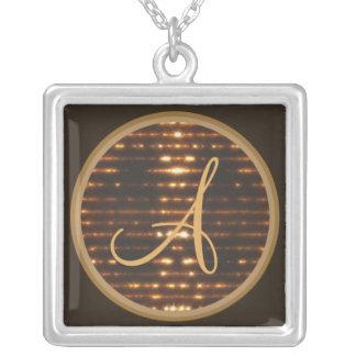 Monogram glowing necklace