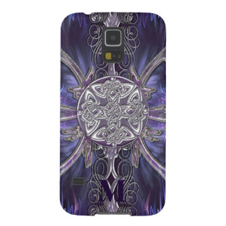 Monogram Gothic Celtic Knot Samsung Galaxy Case