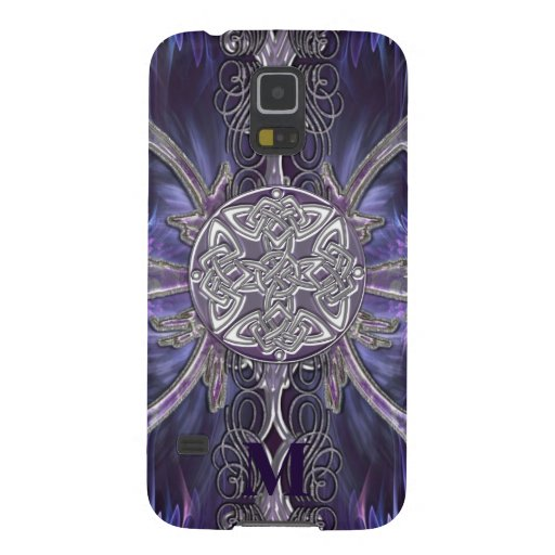 Monogram Gothic Celtic Knot Samsung Galaxy Case Galaxy S5 Cases