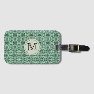 Monogram Green Caladium Luggage Tag