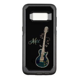 Monogram Guitar and Notes Galaxy S8 Case