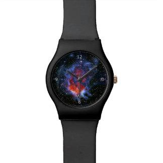 Monogram, Gum 58 Emission Nebula, outer space imag Watch