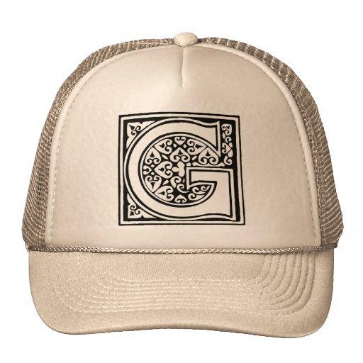 Monogram Mesh Hats