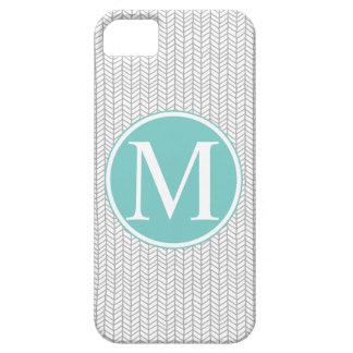 Monogram Herringbone iPhone 5/5S Case