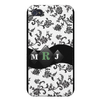 Monogram I Phone Case iPhone 4 Cover