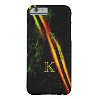 Monogram in Colorfull iPhone cover Barely There iPhone 6 Case
