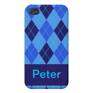Monogram initial P personalised name iphone 4 case