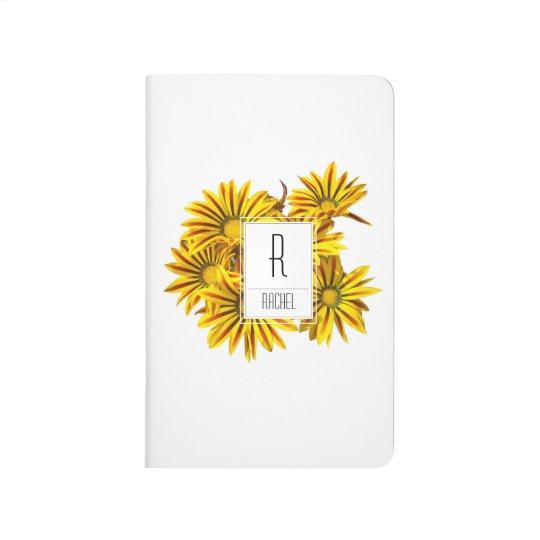 Monogram Initial Personalised Pocket Journal