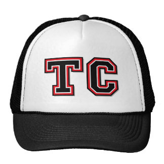 """Monogram Initials """"TC"""" Hat"""