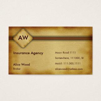 Monogram Insurance Business Card