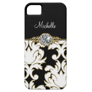 Monogram iPhone 5 Bling Case Case For The iPhone 5