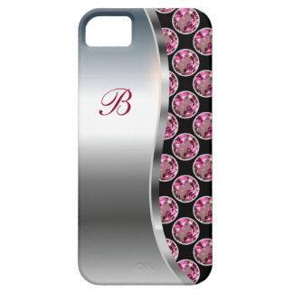 Monogram iPhone 5 Bling Case iPhone 5 Cases
