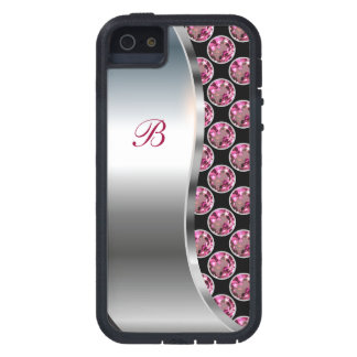Monogram iPhone 5 Bling Case