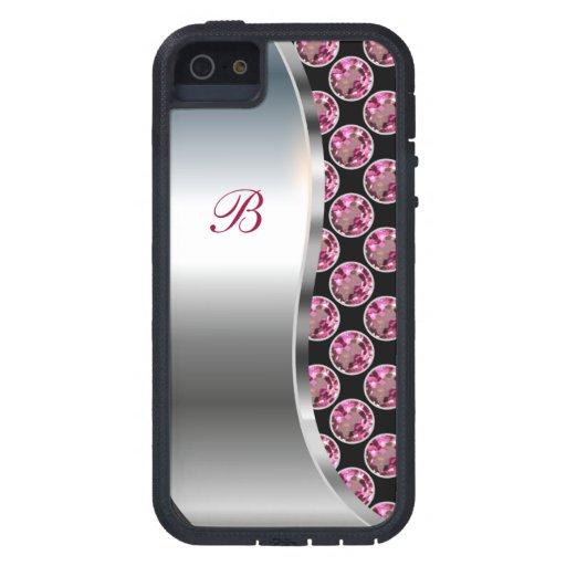 Monogram iPhone 5 Bling Case iPhone 5 Cover
