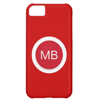 Monogram iPhone 5C Cases