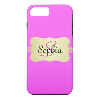 Monogram iPhone 8 Plus/7 Plus Case