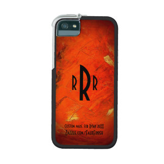 Monogram iPhone Case Custom Made For Him Case For iPhone 5