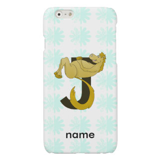 Monogram J Flexible Pony Personalized iPhone 6 Plus Case