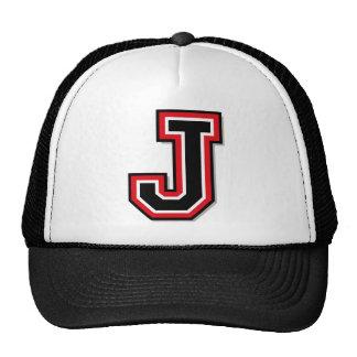 "Monogram ""J"" Initial Cap"