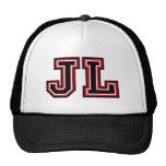 Monogram 'JL' Cap