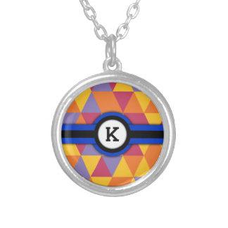 Monogram K Personalized Necklace