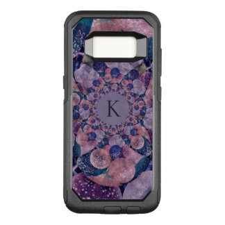 Monogram Kaleidoscope Purple And Pink Balloons OtterBox Commuter Samsung Galaxy S8 Case