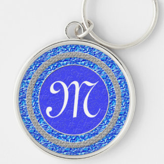 Monogram Keychains Initial is Customizable Women