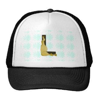 Monogram L Cartoon Pony Personalised Trucker Hat