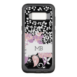Monogram Ladies OtterBox Commuter Samsung Galaxy S8 Case