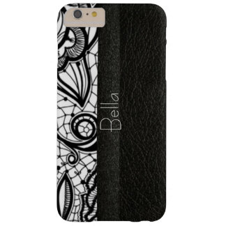 Monogram Leather & Lace Look iPhone 6 Case