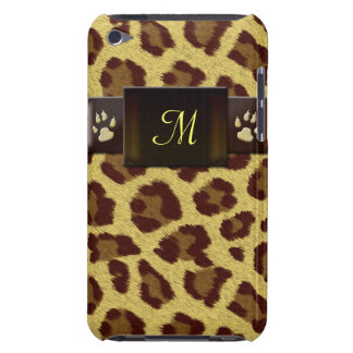 Monogram Leopard Pattern iPod Touch Case-Mate Case