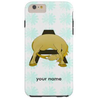 Monogram  Letter A Pony Tough iPhone 6 Plus Case