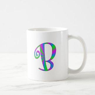 Monogram Letter B Fun Mugs