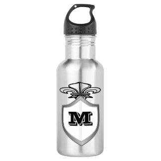 Monogram Letter Design 532 Ml Water Bottle