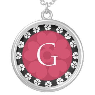 Monogram Letter G Pendant Necklace
